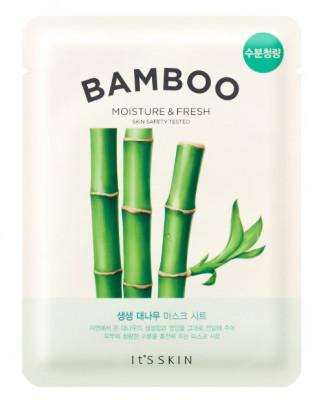 Тканевая маска освежающая с бамбуком It'S SKIN The Fresh Bamboo Mask Sheet 19г: фото