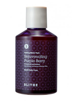 Сплэш-маска антивозрастная BLITHE Patting Splash Mask Rejuvenating Purple Berry 150 мл: фото