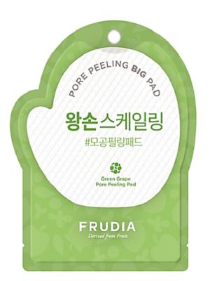 Пилинг-диск для лица с зеленым виноградом Frudia Green Grape Pore Peeling Big Pad 1 шт: фото