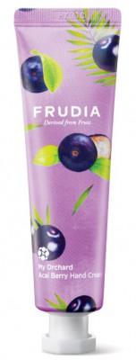 Крем для рук увлажняющий с ягодами асаи Frudia My Orchard Acai Berry Hand Cream 30 г: фото