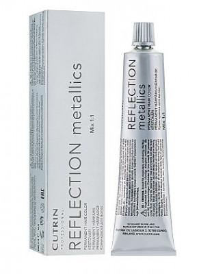 Крем-краска для волос CUTRIN REFLECTION METALLICS 8MS серебристо-песочный блонд 60мл: фото