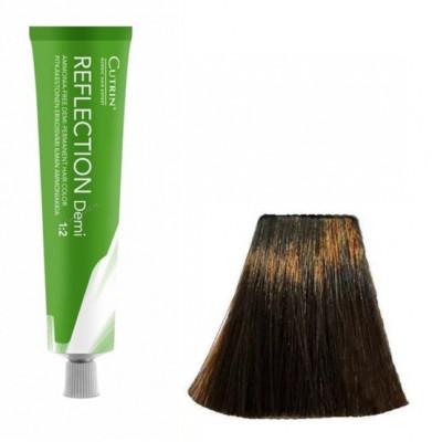 Безаммиачный краситель для волос CUTRIN REFLECTION DEMI 5.74 шоколад 60 мл: фото