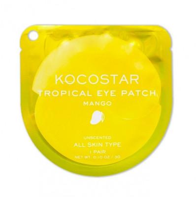 Патчи для глаз гидрогелевые Kocostar с манго 2 шт: фото