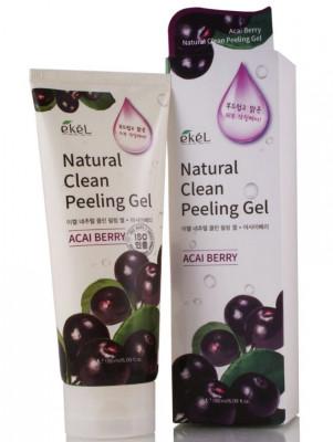 Пилинг для лица с ягодами асаи Ekel Peeling Gel Asaiberry 180 мл: фото