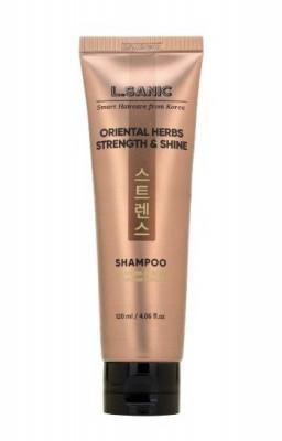 Шампунь с восточными травами для силы и блеска волос L.SANIC ORIENTAL HERBS STRENGTH & SHINE SHAMPOO 120мл: фото
