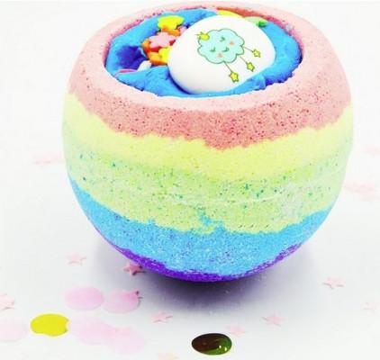 Бомбочка для ванны BOOM SHOP cosmetics Rainbow Bomb 220 г: фото