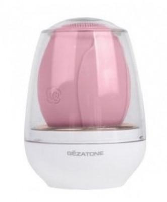 Электрическая щетка для очищения и антивозрастного массажа лица Gezatone AMG 110 розовая: фото